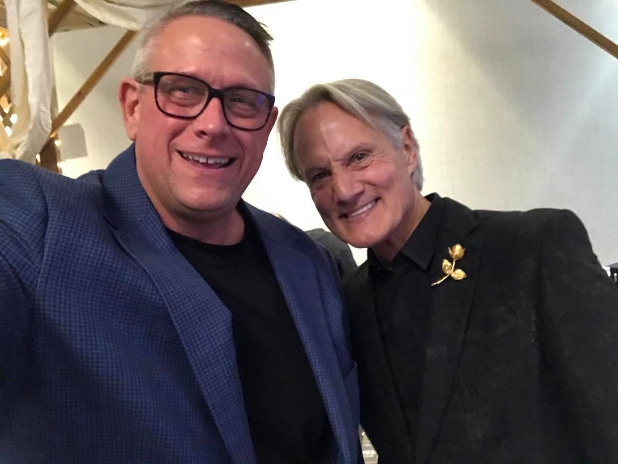 Monte at Wedding with JK the DJ
